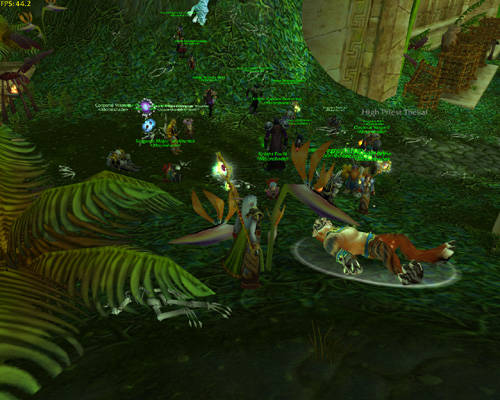 Zul Gurub - High Priest Thekal Defeated by Moonshade