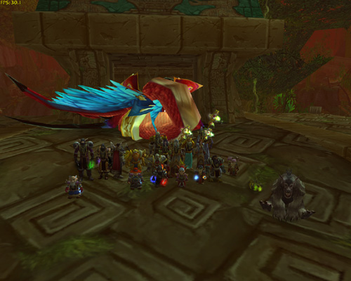 Moonshade defeated Hakkar in Zul Gurub